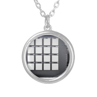 Instrumentals MPC Silver Plated Necklace