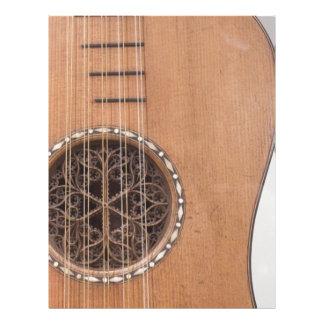 Instrumento atado VI Membrete