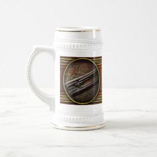 Instrumento - cuerno - el bugle tazas de café