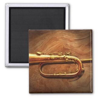 Instrumento - cuerno - Reveille y Rouse Imanes Para Frigoríficos