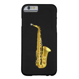 Instrumento de música de cobre amarillo del funda de iPhone 6 barely there