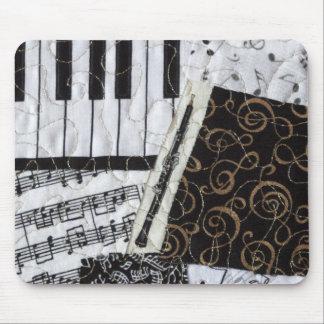 Instrumento musical del instrumento de viento de m alfombrilla de ratones