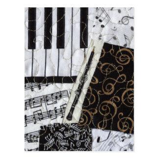 Instrumento musical del instrumento de viento de m postales
