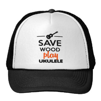 Instrumento musical del Ukulele - ahorre el ukulel Gorros Bordados