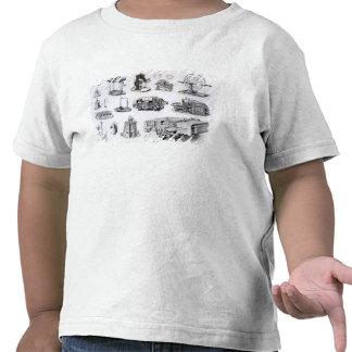 Instrumentos al descubrimiento y al uso de camisetas