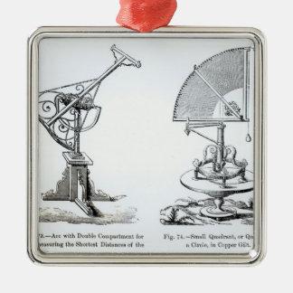 Instrumentos astronómicos ornamentos para reyes magos