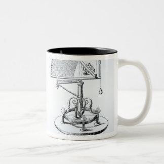 Instrumentos astronómicos tazas de café