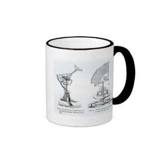 Instrumentos astronómicos taza de café