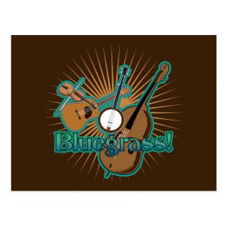 Instrumentos de Bluegrass Postal