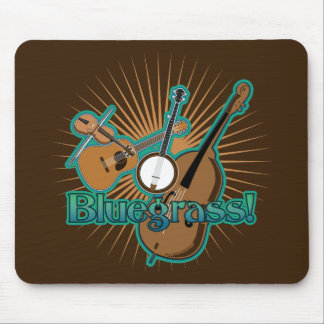 Instrumentos de Bluegrass Tapete De Ratones