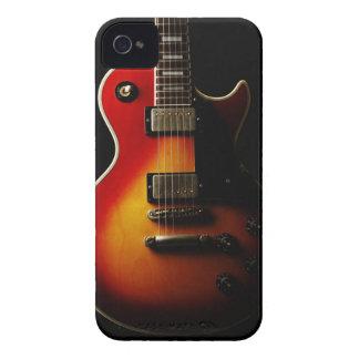 Instrumentos de la guitarra carcasa para iPhone 4