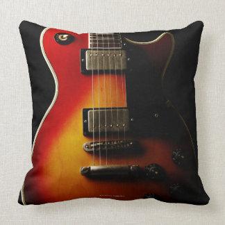 Instrumentos de la guitarra cojín decorativo