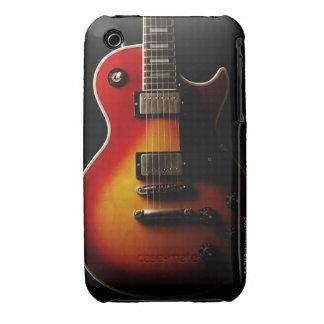 Instrumentos de la guitarra iPhone 3 protector
