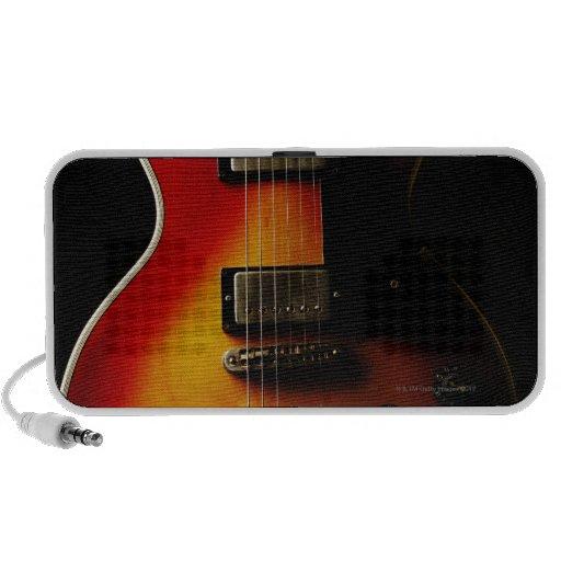 Instrumentos de la guitarra iPhone altavoz