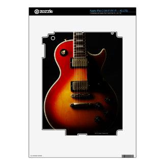 Instrumentos de la guitarra pegatinas skins para iPad 3