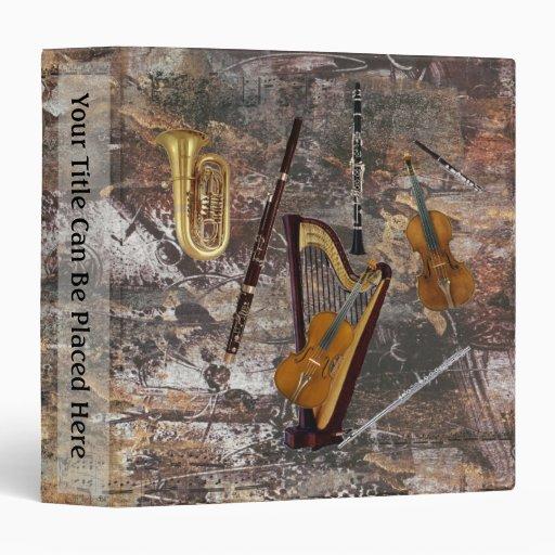 """Instrumentos de la orquesta carpeta 1 1/2"""""""