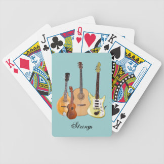 Instrumentos de las Secuencias-Cuatro Baraja Cartas De Poker