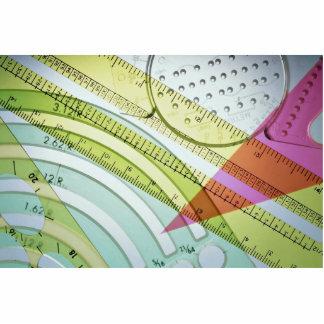 Instrumentos de medida escultura fotografica