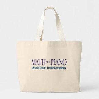 Instrumentos de precisión del _de la matemáticas y bolsa lienzo