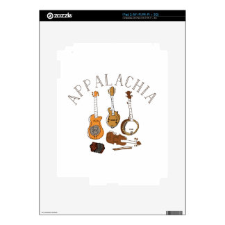 Instrumentos del Appalachia Calcomanías Para El iPad 2