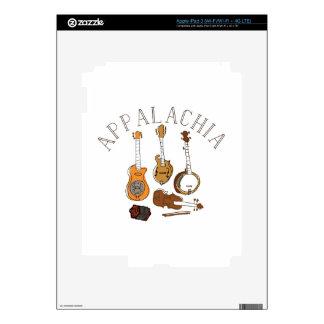 Instrumentos del Appalachia Pegatinas Skins Para iPad 3