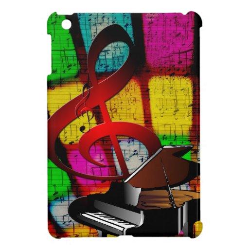 Instrumentos del destino del profesor de las notas iPad mini cárcasas