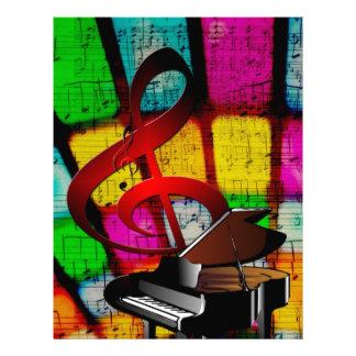 Instrumentos del destino del profesor de las notas membretes personalizados