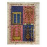 Instrumentos del templo tarjetas postales
