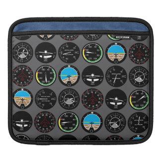 Instrumentos del vuelo manga de iPad