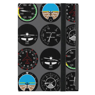 Instrumentos del vuelo iPad mini cárcasas