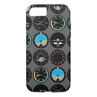 Instrumentos del vuelo funda iPhone 7