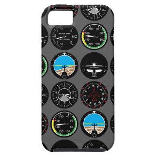 Instrumentos del vuelo iPhone 5 carcasa