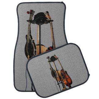Instrumentos musicales de la guitarra alfombrilla de coche