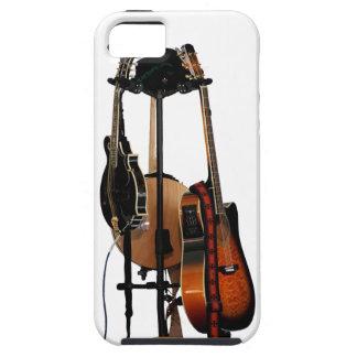 Instrumentos musicales de la guitarra iPhone 5 Case-Mate cárcasas