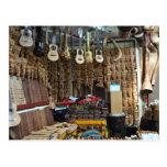 Instrumentos musicales - Machu Picchu - Perú Tarjetas Postales
