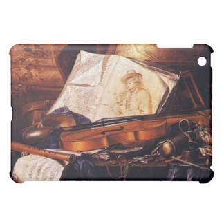 Instrumentos musicales que pintan los casos del