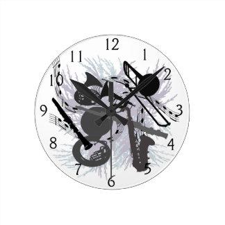 Instrumentos musicales reloj