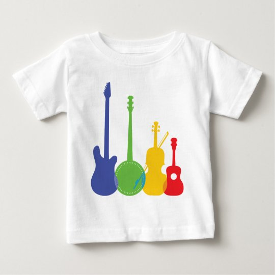 Instruments Color Baby T-Shirt