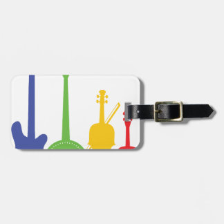 Instruments Color Travel Bag Tag