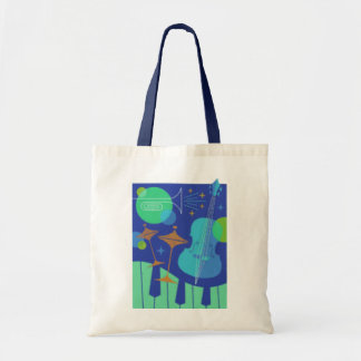 Instruments Design Tote Bags