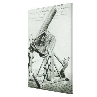 Instruments d'optique' by Dom Noel Canvas Print