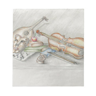 Instruments music notepad