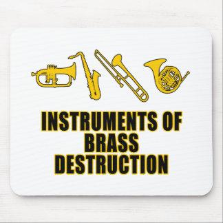 Instruments of Brass Destruction Mouse Pad