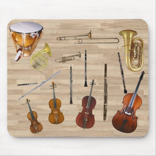 Instruments of the Orchestra Mousepads