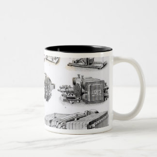 Instruments to  Discovery and Use of Two-Tone Coffee Mug