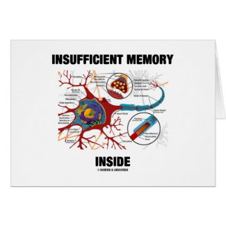Insufficient Memory Inside (Neuron / Synapse) Cards