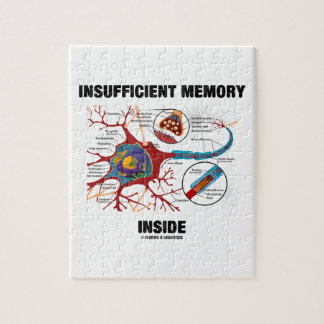 Insufficient Memory Inside (Neuron / Synapse) Jigsaw Puzzle