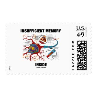 Insufficient Memory Inside (Neuron / Synapse) Postage Stamps