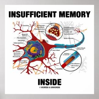 Insufficient Memory Inside (Neuron / Synapse) Print