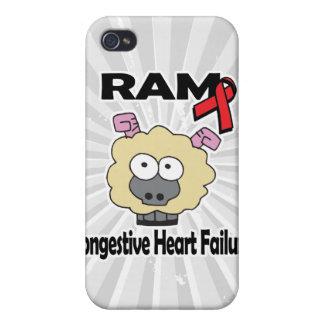 Insuficiencia cardiaca congestiva de RAM iPhone 4 Fundas
